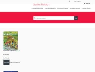 religionstore.sadlier.com screenshot