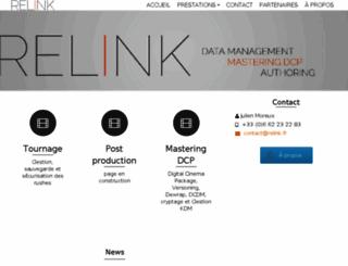 relink.fr screenshot