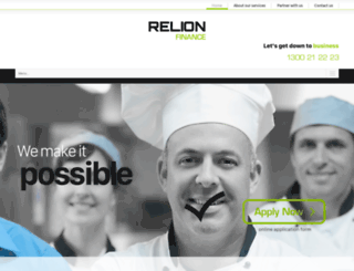 relionfinance.com.au screenshot