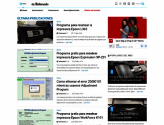 rellenadodecartuchos.com screenshot