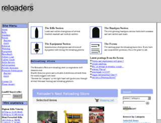 reloadersnest.com screenshot