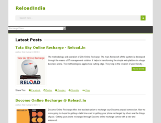reloadindia.blogspot.in screenshot