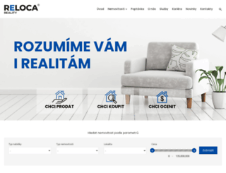reloca.cz screenshot