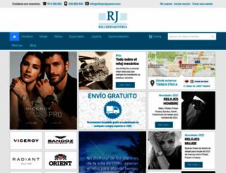 relojeriajoyeria.com screenshot