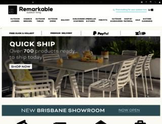 remarkablefurniture.com.au screenshot