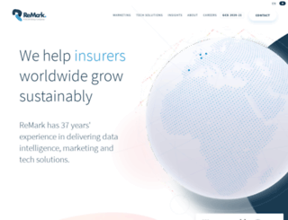 remarkgroup.com screenshot
