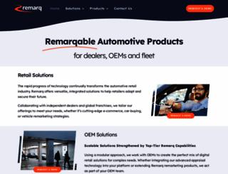 remarq.co.uk screenshot