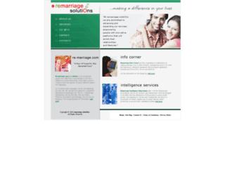 remarriagesolutions.com screenshot