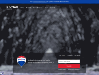 remax-jowic.co.za screenshot