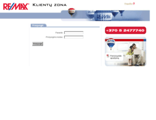 remax-klientai.lt screenshot