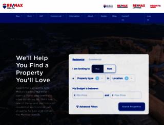 remax-malta.com screenshot