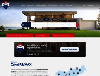 remax-slovenia.com screenshot