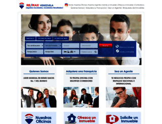 remax.com.ve screenshot