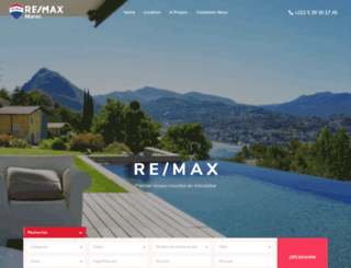 remax.ma screenshot