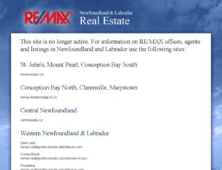 remax.nf.ca screenshot