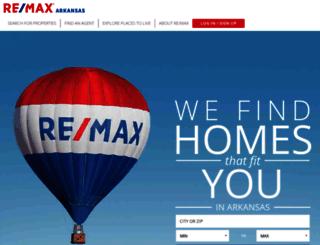remaxarkansas.com screenshot