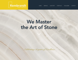 rembrandtcountertops.com screenshot
