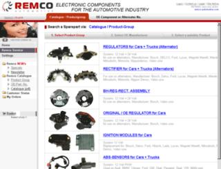 remco-automotive.com screenshot