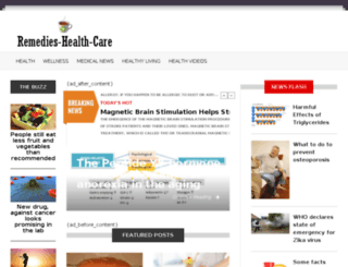 remedies-health-care.com screenshot