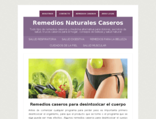 remedios-caseros.biz screenshot