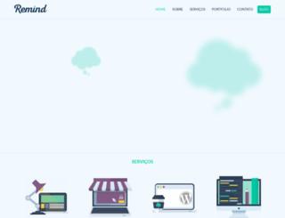 remind.com.br screenshot