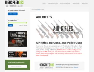 remingtonairguns.com screenshot
