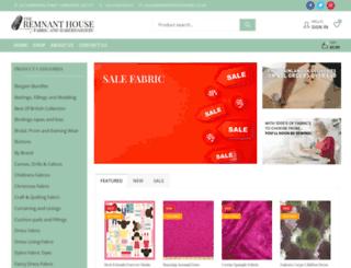 remnanthousefabric.co.uk screenshot