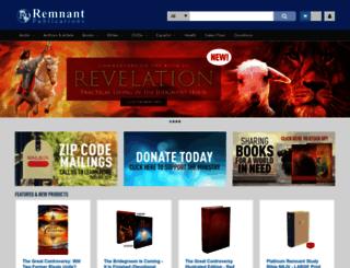 remnantpublications.com screenshot