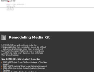 remodelingmediakit.com screenshot