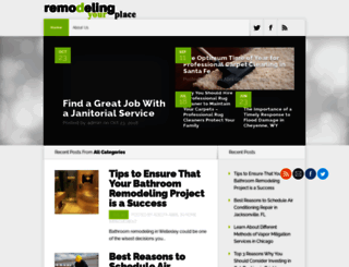remodelingyourplace.com screenshot