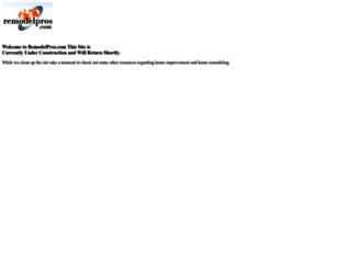 remodelpros.com screenshot