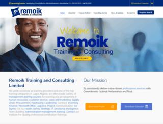 remoikngltd.com screenshot