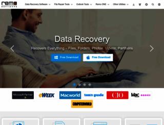 remosoftware.com screenshot