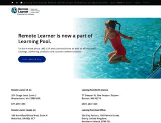 remote-learner.com screenshot