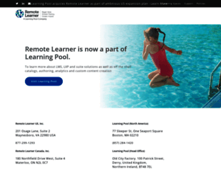 remote-learner.net screenshot