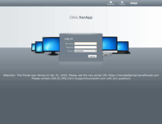 remote.benefitsweb.com screenshot