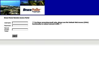 remote.brucepower.com screenshot