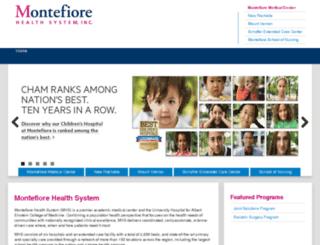 remote.montefiore.org screenshot
