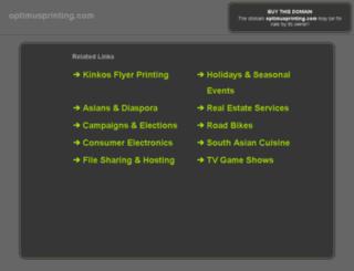 remote.optimusprinting.com screenshot