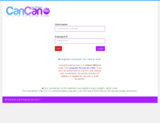 remote123.cancancarfinance.co.uk screenshot