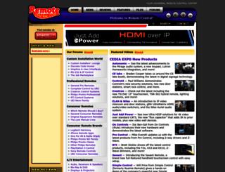 remotecentral.com screenshot