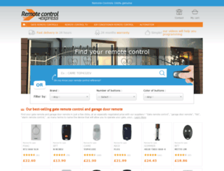 remotecontrol-express.co.uk screenshot