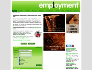 remoteemployment.com screenshot