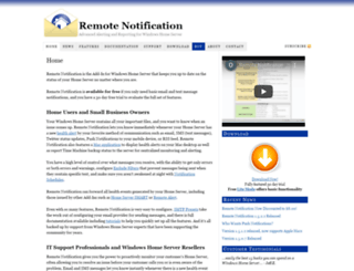 remotenotification.com screenshot