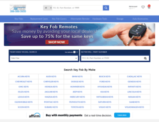 remotesandkeys.com screenshot