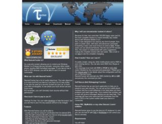 remotetracker.sourceforge.net screenshot