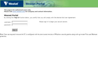 remoteuser.westat.com screenshot