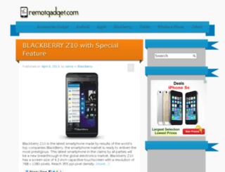 remotgadget.com screenshot