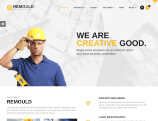 remould-overlay.thememountdemo.com screenshot