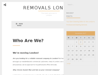 removals-london.org screenshot